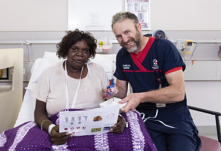 Improving delivery of care after discharge for Aboriginal cardiac patients.