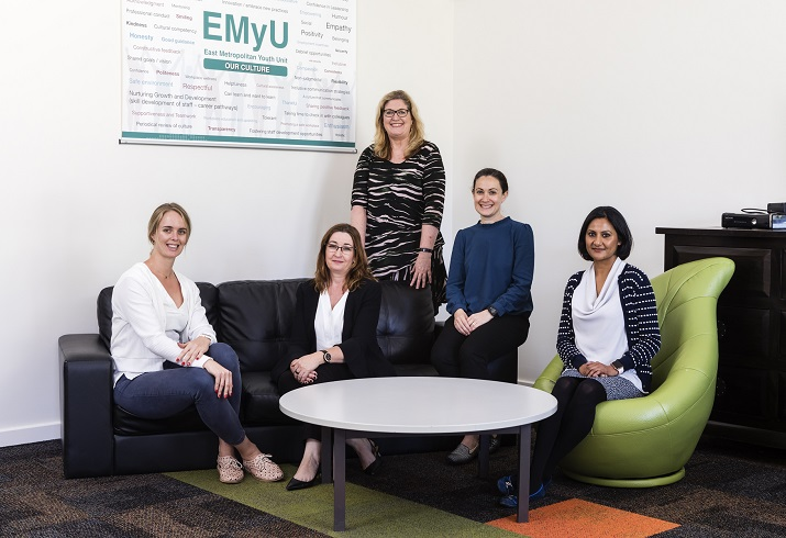 The EMyU Family Information and Skills Sessions team