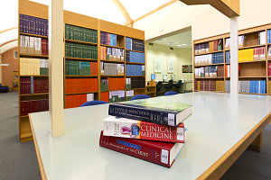 Photograph of Royal Perth Hospital library