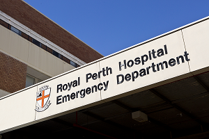 Photograph of RPH ED signage